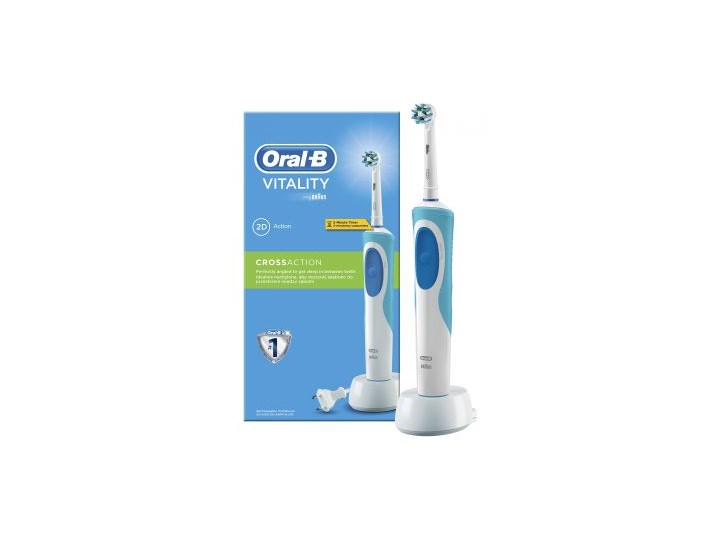 Szczoteczka elektryczna Oral-B Vitality 2D Action Cross Action ... 4807e987b8f2