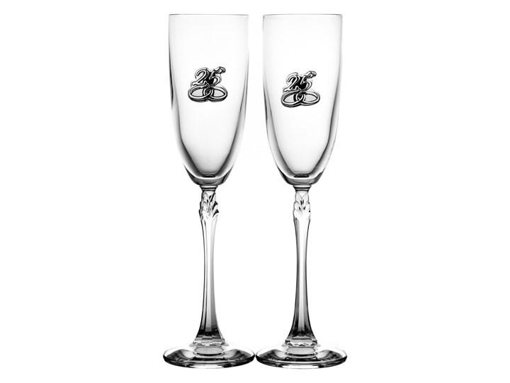 e52c2260ce Kieliszki ślubne do szampana Srebrne Gody 2 sztuki (3825 ...