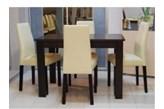 4 szt. krzesło Reset AKRM firmy BRW + stół 70/110