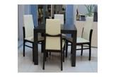4 szt. krzesło TOP firmy BRW + stół 85/85