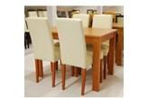 4 szt. krzesło Vis a Vis VKRM firmy BRW + stół 70/110