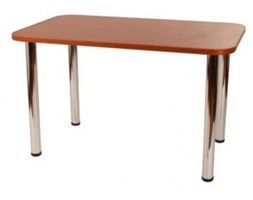 Stół kuchenny 70 x 120 cm noga prosta