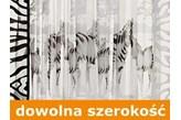 Firanka Zebry wysokość 150 cm