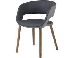 Krzesło Grace V ciemnoszare