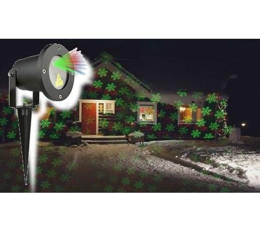 świąteczny Projektor Laserowy 20 X 20 M Timer