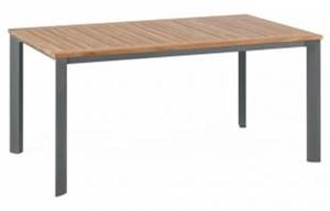 Stół Lofttisch 95 x 160 cm grafitowy/teak