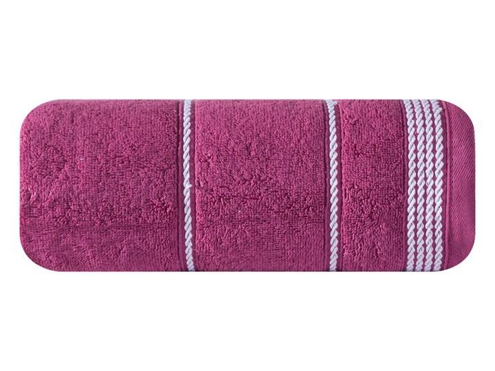 Ręcznik bawełniany bordowy R77 Kategoria Ręczniki Bawełna Kolor Różowy