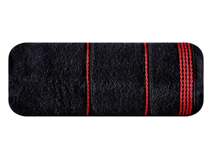 Ręcznik bawełniany czarny R77 Bawełna Kategoria Ręczniki Kolor Czerwony