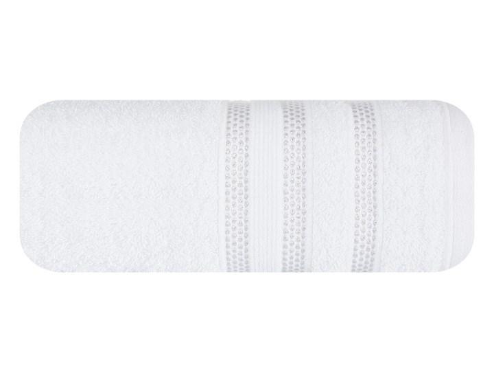 Ręcznik bawełniany biały R-43-2