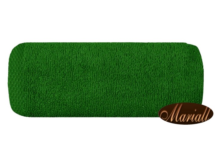 Ręcznik bawełniany gładki zielony R46