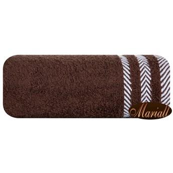 Ręcznik bawełniany brązowy R47