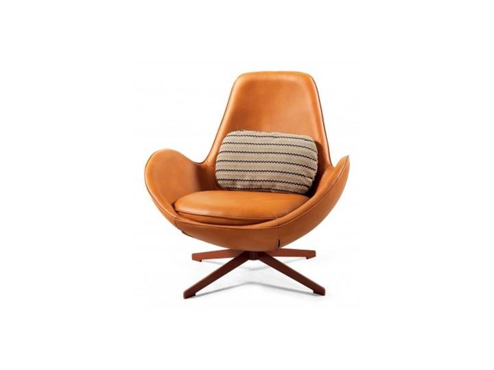 Fotel Salamanka Skóra Fotel inspirowany Wysokość 38 cm Głębokość 54 cm Wysokość 85 cm Styl Nowoczesny
