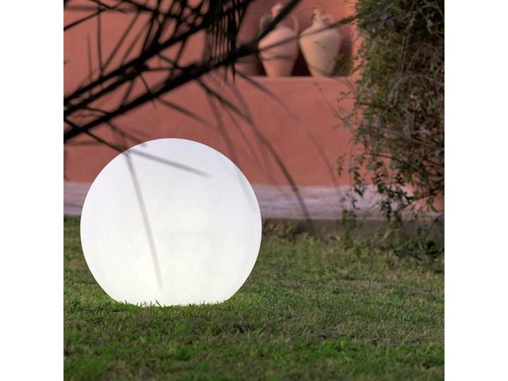 BULY - Lampa zewnętrzna Biały Ø40cm Lampa stojąca