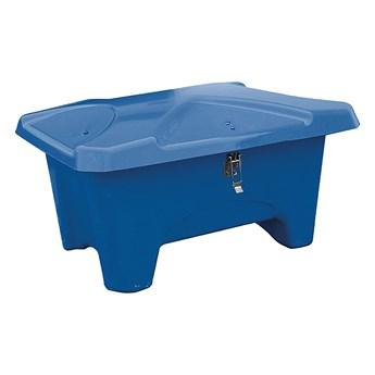 Pojemnik do przestrzeni zewnętrznych, 1110x750x745 mm, 280L, niebieski