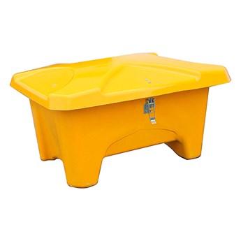 Pojemnik do przestrzeni zewnętrznych, 1110x750x745 mm, 280L, żółty