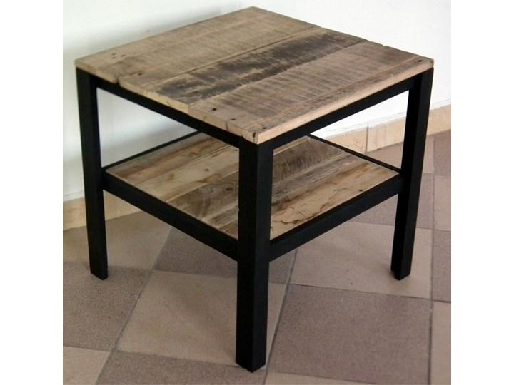 Stolik Kawowy Drewniany Z Półką Stoliki I ławy Zdjęcia Pomysły