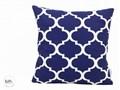 Poszewka dekoracyjna - Marokańska koniczyna Bawełna tkanina 50x50 cm Kwadratowe 40x40 cm Wzór Marokański