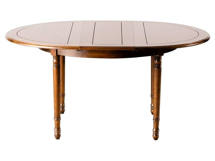 Dekoria Stół Okrągły Rozkładany 120x76cm 160x120x76cm 120 76 Cm