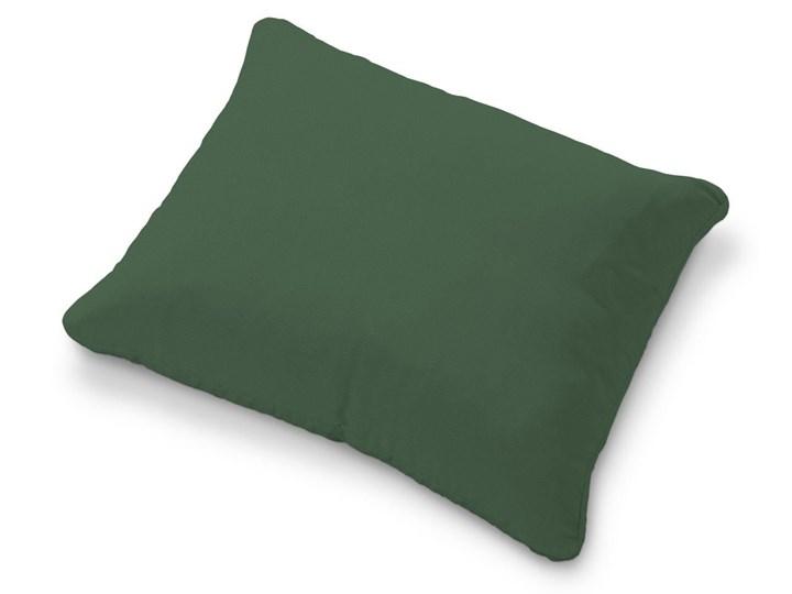 Dekoria Poszewka na poduszkę Karlstad 58x48cm, Forest Green (zielony), 58 × 48 cm, Cotton Panama