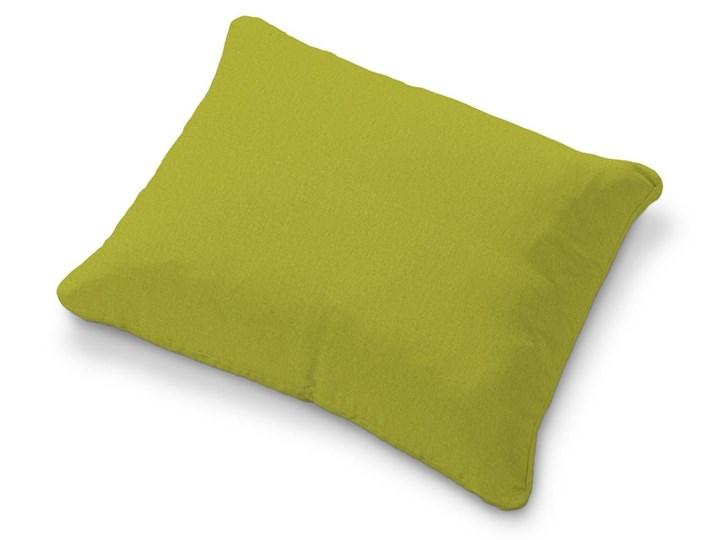 Dekoria Poszewka na poduszkę Karlstad 58x48cm, limonka, 58 × 48 cm, Etna