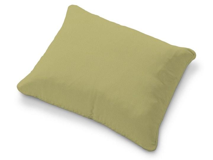 Dekoria Poszewka na poduszkę Karlstad 58x48cm, oliwkowy a'la zamsz, 58 × 48 cm, Living