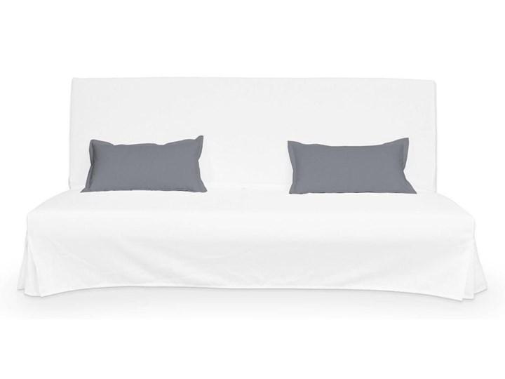 Dekoria 2 poszewki niepikowane na poduszki Beddinge, Slade Grey (szary), poduszki Beddinge, Cotton Panama