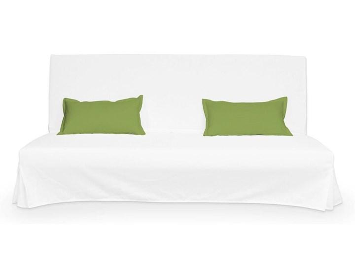 Dekoria 2 poszewki niepikowane na poduszki Beddinge, Spring Green (limonkowa zieleń), poduszki Beddinge, Cotton Panama