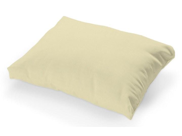 Dekoria Poszewka na poduszkę Tylösand 1 szt., Cream (kremowy), poduszka Tylösand, Cotton Panama Prostokątne Bawełna Wzór Jednolity