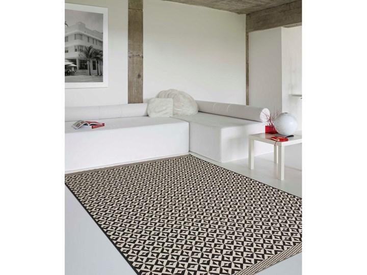 Dekoria Dywan Modern Geometric black/wool 67x130cm, 67x130cm Juta Syntetyk Prostokątne Dywany Rozmiar 4 67x130 cm