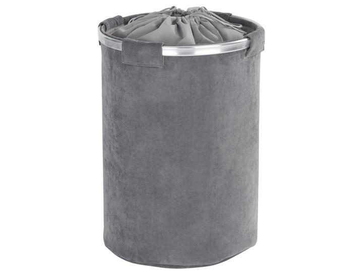 Kosz na pranie CORDOBA, kolor szary - 68 litrów, WENKO Metal Tkanina Styl klasyczny
