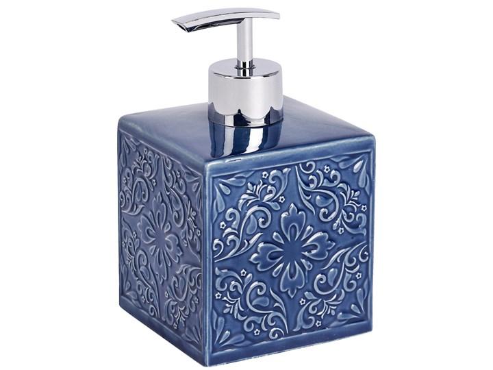 Dozownik do mydła CORDOBA DARK BLUE - 500 ml, WENKO Dozowniki Styl klasyczny
