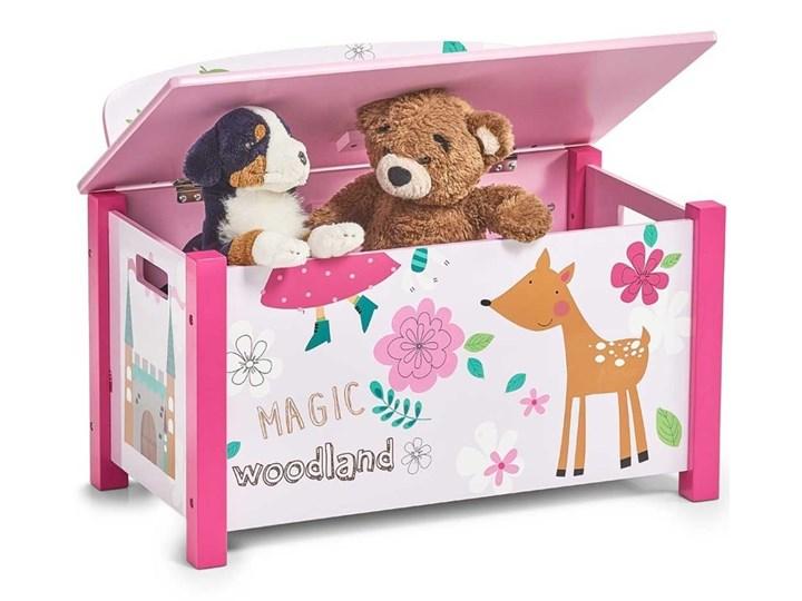 Skrzynia na zabawki GIRLY - siedzisko, 2w1, ZELLER Pojemnik