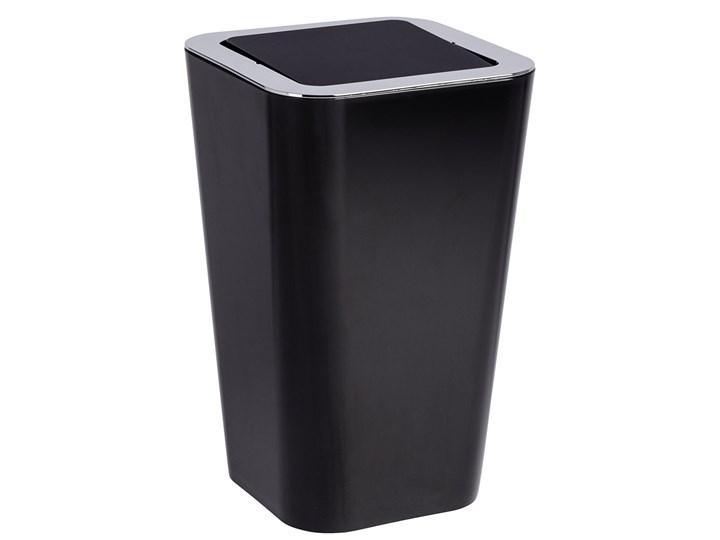 Kosz na śmieci CANDY BLACK - 6 l, WENKO Kosz uchylny
