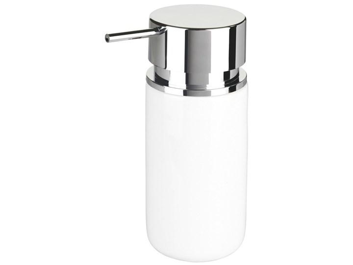 Dozownik do mydła SILO WHITE, WENKO Dozowniki tworzywo sztuczne ceramika metal Styl klasyczny