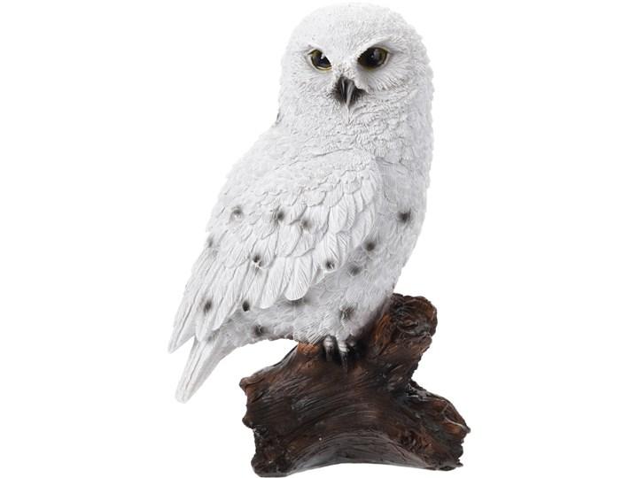 Sowa na pieńku - ozdoba, dekoracja Zwierzęta tkanina Ptaki