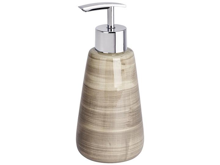 Dozownik do mydła w płynie, żelu POTTERY SAND, WENKO Dozowniki Styl klasyczny
