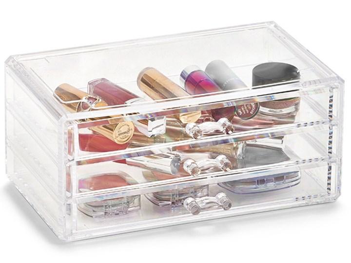 Organizer na kosmetyki, z 3 szufladkami, ZELLER Z tworzywa sztucznego Pojemnik na akcesoria kosmetyczne