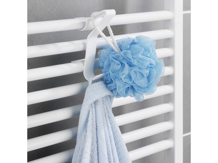 Biały haczyk FLEXI, wieszak na grzejnik żeberkowy, WENKO Pojedynczy Wieszaki na ręczniki Tworzywo sztuczne