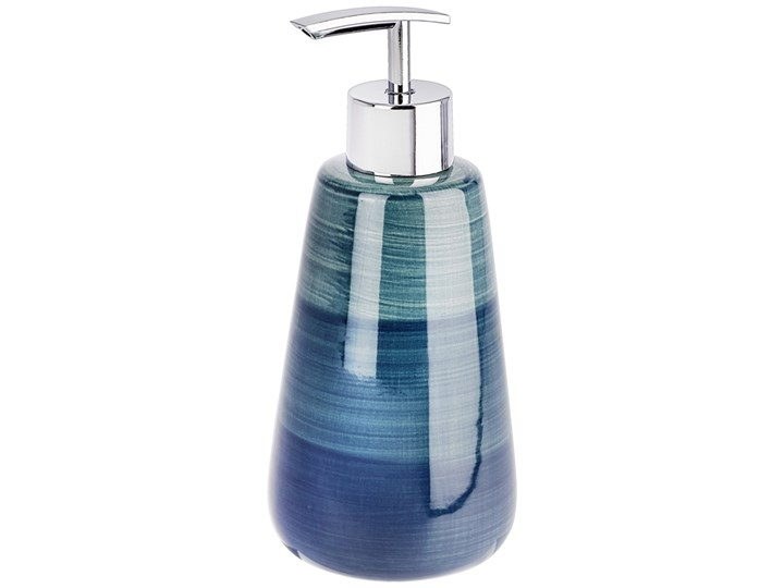 Dozownik do mydła w płynie, żelu POTTERY PETROL, WENKO Dozowniki Styl klasyczny