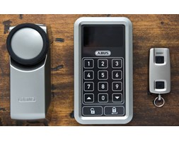 ABUS HomeTec Pro zestaw z klawiaturą i pilotem, Smart Home CFA3000