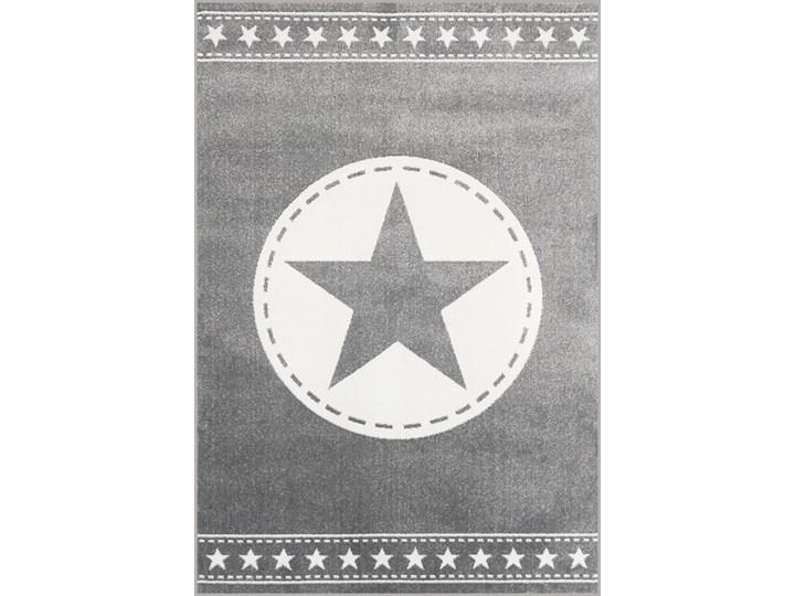 Dywan Kolibri Converse Szary Gwiazda Prostokątne Dywany Rozmiar 4 133x190 cm Bawełna Rozmiar 4 120x170 cm