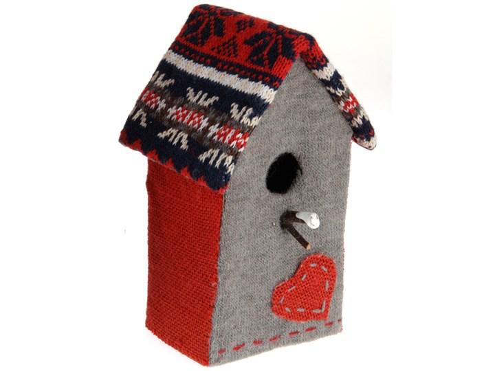 Domek dla ptaków - ozdoba, dekoracja tkanina Domki Ptaki