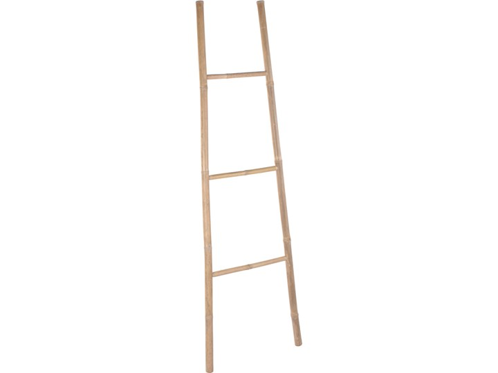 Bambusowa drabina do wieszania ręczników, wys. 171 cm
