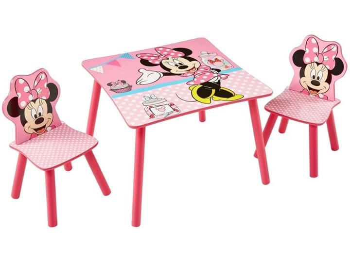 Minnie Mouse Stoel : Disney minnie mouse stół z krzesłami cm różowy