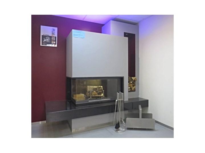 Wyprzedaż Ekspozycji Wkład Kominkowy Totem Lateral Horizon 1000 Eco Ciemne Cegły