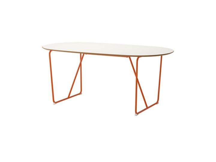 Ikea Slähult Stół Biały Backaryd Pomarańczowy Stoły Kuchenne