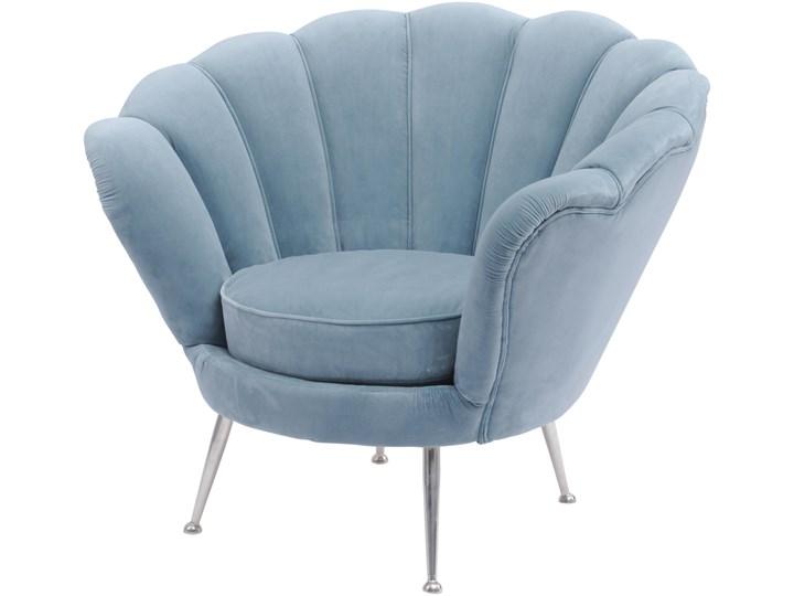 Fotel Eaton Velvet Fotel pikowany Szerokość 93 cm Głębokość 80 cm Wysokość 78 cm metal