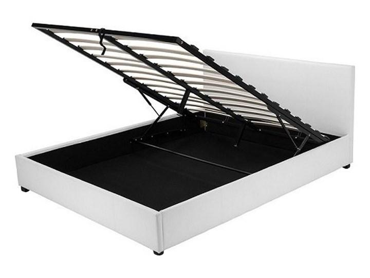 łóżko Z Pojemnikiem Veronica 180x200 Białe