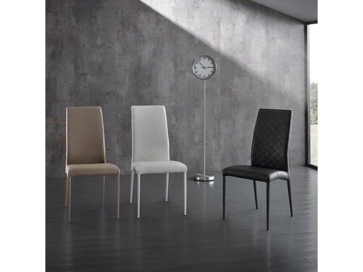 2 Krzesla Design Z Ekoskory I Metalowa Konstrukcja Paula Krzesla