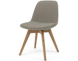 Krzesło Grace Bess szare nogi białe